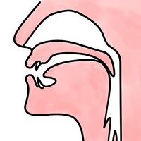 position of the tongue for the n in sing